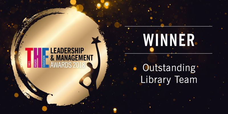 Outstanding Library Team award winner