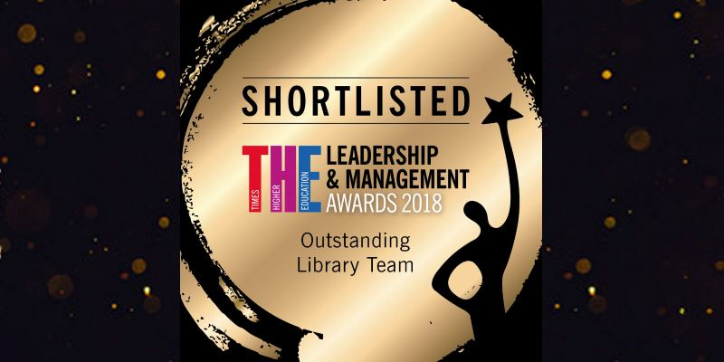 Outstanding Library Team: shortlisted for national award