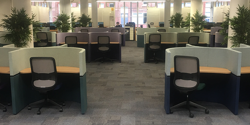 New look West Building open now