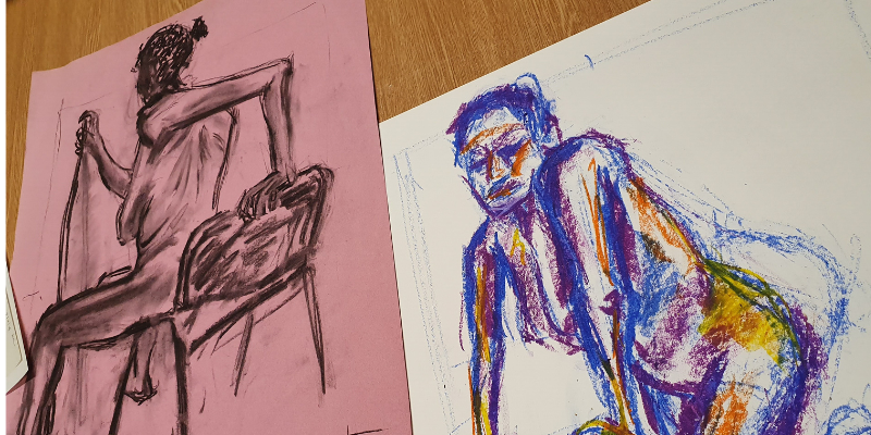 Life Drawing with Rob Oldfield | Galleries | University of Leeds