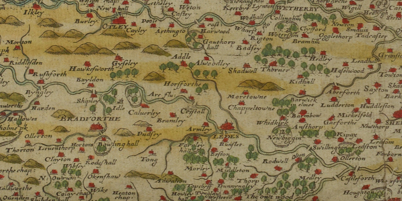 Tuesday Treasure: Maps, maps, maps | Galleries | University of Leeds
