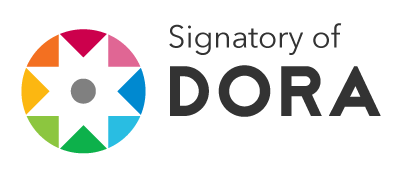 The San Francisco Declaration on Research Assessment (DORA) signatory logo