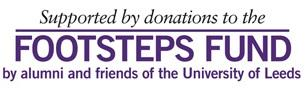 Footsteps funding logo