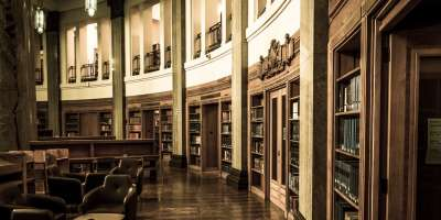 Brotherton Library round reading room at the University of Leeds