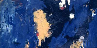 Gillian Ayres, Distillation, 1957 (detail). © The Estate of Gillian Ayres. © Photo ©Tate