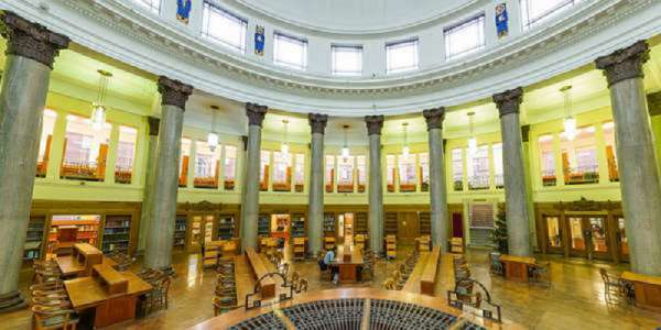 Brotherton Library round reading room