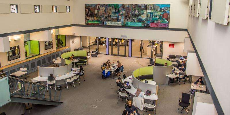Group area of Health Sciences Library